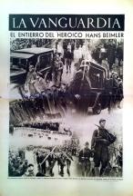 La Vanguardia. Tiefdruckbeilage 8. Dezember 1936
