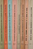 Cuadernos Bibliograficos de la Guerra de Espana 1936 -1939. 8 Bände Madrid 1966-1970.
