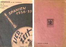 Liedertexte Spanien 1940