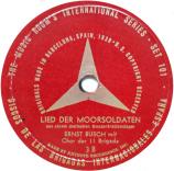 Plattenetikett Lied der Moorsoldaten 6 Songs for Democracy