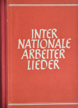 Internationale Arbeiterlieder Titel 24. Auflage 1954