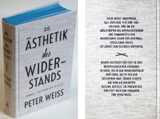 Die Ästhetik des Widerstands. Büchergilde Gutenberg 2016