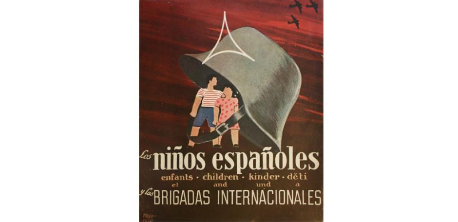 Los niños españoles y las Brigadas Internationales. Herausgegeben vom Comité Pro-Niños Españoles de las Brigadas Internacionales. Barcelona 1938